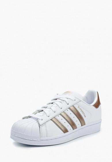 3ce6286a Кеды adidas Originals SUPERSTAR W купить за 6 990 руб AD093AWALQA0 в  интернет-магазине Lamoda.ru