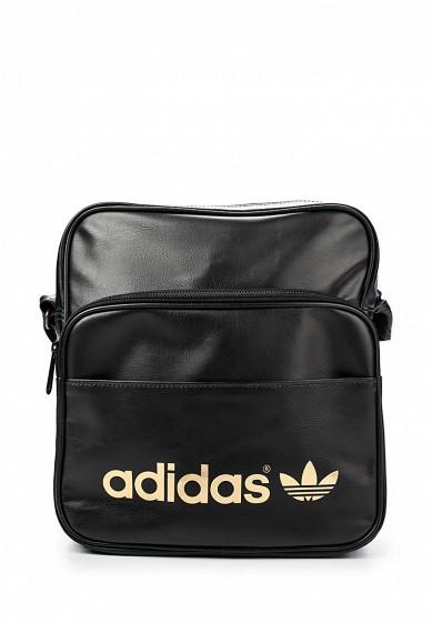 d9b3fcb8da3a1 Сумка спортивная adidas Originals AC SIR BAG купить за 1 790 руб  AD093BUASU76 в интернет-магазине Lamoda.ru