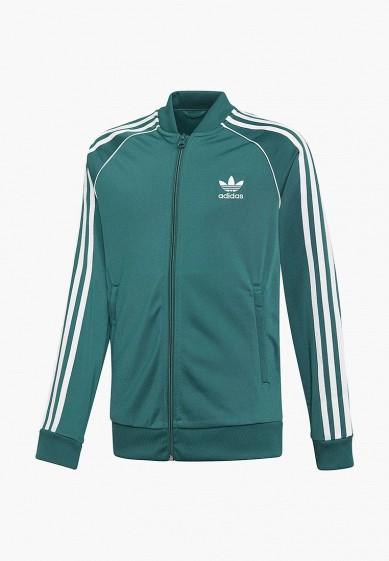 Олимпийка adidas Originals J SST TOP купить за 2 370 руб AD093EBCCZO0 в  интернет-магазине Lamoda.ru 592b5a412d7