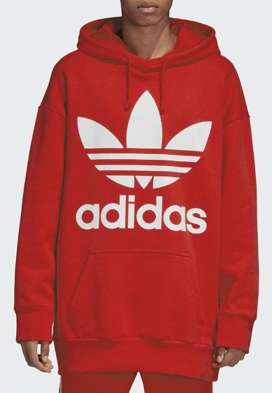 Свитшот adidas Originals TREF OVER HOOD