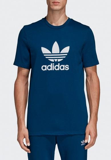 b4612094 Футболка adidas Originals TREFOIL T-SHIRT купить за 2 150 руб AD093EMEESH8  в интернет-магазине Lamoda.ru