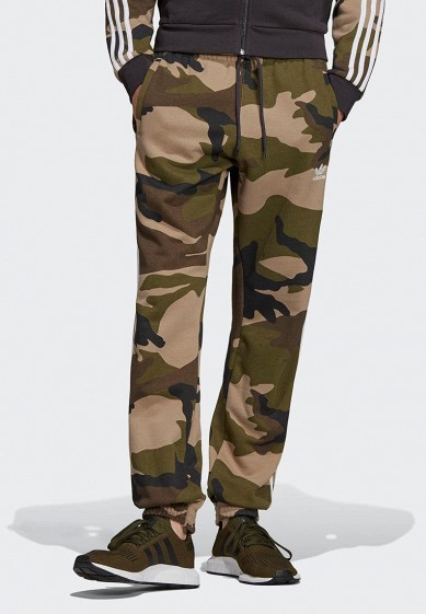 Брюки спортивные adidas Originals CAMO FLEECEPANT