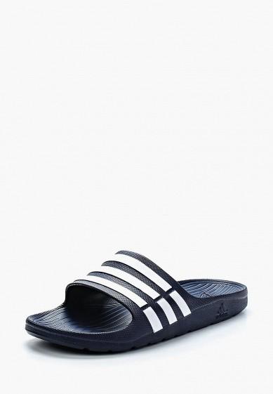 9049c858f8e9 Сланцы adidas Duramo Slide купить за 1 690 руб AD094AUDYH75 в интернет- магазине Lamoda.ru