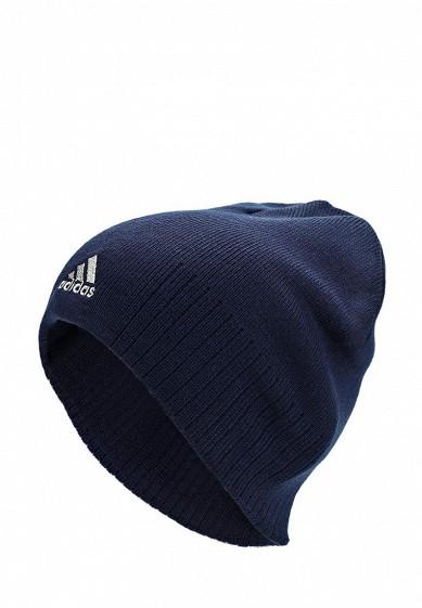 Шапка adidas ESS CORP BEAN купить за 550 руб AD094CUBZK15 в интернет- магазине Lamoda.ru ba44699ae7020