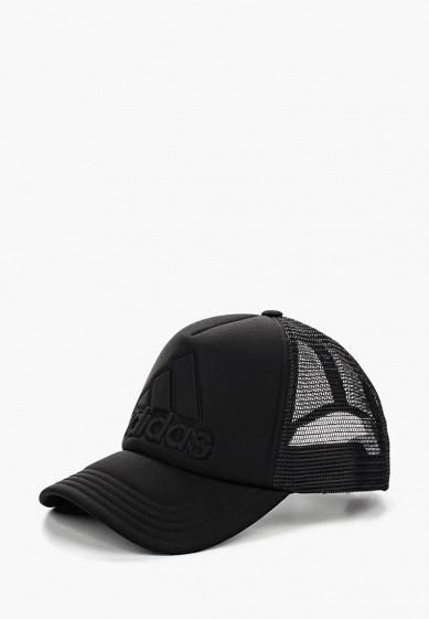 Бейсболка adidas TRUCKER LOGO купить за 1 390 руб AD094CUQML54 в  интернет-магазине Lamoda.ru 2c4eb43f0b39e