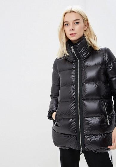Пуховик, Add, цвет: черный. Артикул: AD504EWCGOL0. Premium / Одежда / Верхняя одежда