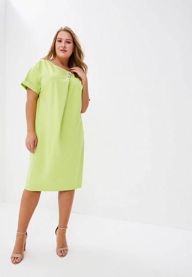 Платье, Aelite, цвет: зеленый. Артикул: AE004EWBIYM6. Одежда / Платья и сарафаны