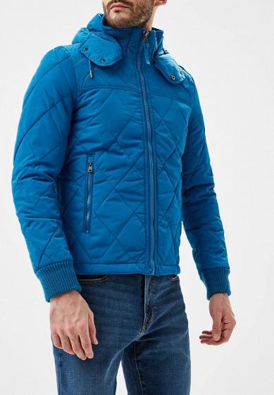 Куртка утепленная, Alcott, цвет: синий. Артикул: AL006EMDJYA8. Одежда / Верхняя одежда
