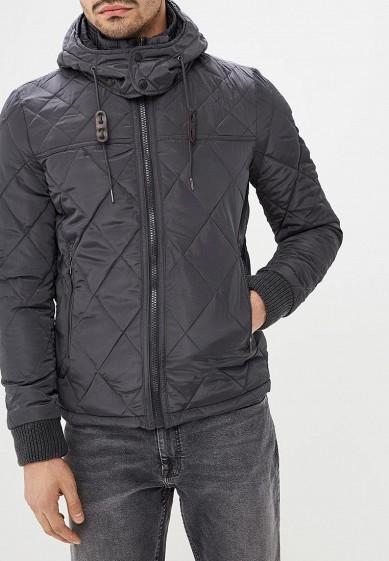 Куртка утепленная, Alcott, цвет: серый. Артикул: AL006EMDJYA9. Одежда / Верхняя одежда