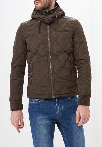 Куртка утепленная, Alcott, цвет: хаки. Артикул: AL006EMDJYB0. Одежда / Верхняя одежда