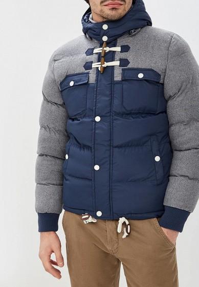 Куртка утепленная, Alcott, цвет: синий. Артикул: AL006EMDJYB4. Одежда / Верхняя одежда