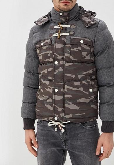 Куртка утепленная, Alcott, цвет: хаки. Артикул: AL006EMDJYB5. Одежда / Верхняя одежда