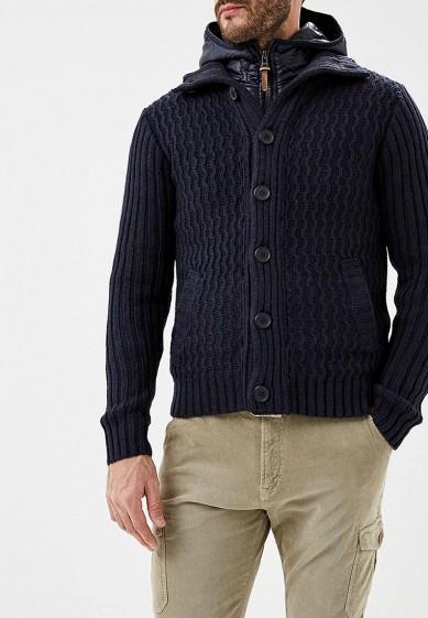 Куртка утепленная, Alcott, цвет: синий. Артикул: AL006EMDJYC8. Одежда / Верхняя одежда