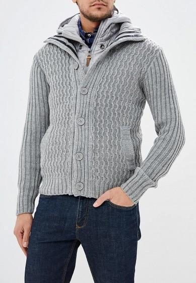 Куртка утепленная, Alcott, цвет: серый. Артикул: AL006EMDJYC9. Одежда / Верхняя одежда
