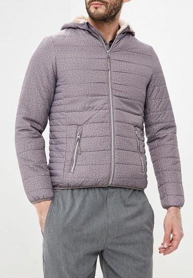 Куртка утепленная, Alcott, цвет: серый. Артикул: AL006EMDJYD1. Одежда / Верхняя одежда