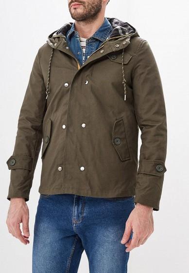 Куртка утепленная, Alcott, цвет: хаки. Артикул: AL006EMLDM08. Одежда / Верхняя одежда