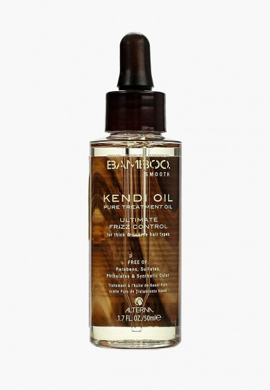 Alterna натуральное масло bamboo smooth pure jnpsds