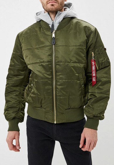 Куртка утепленная Alpha Industries MA-1 D-Tec Puffer OS