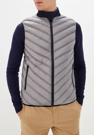 Жилет утепленный, Antony Morato, цвет: серый. Артикул: AN511EMGJOW1. Одежда / Верхняя одежда