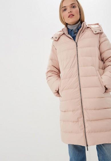 Пуховик, Armani Exchange, цвет: розовый. Артикул: AR037EWBLEY2. Premium / Одежда / Верхняя одежда