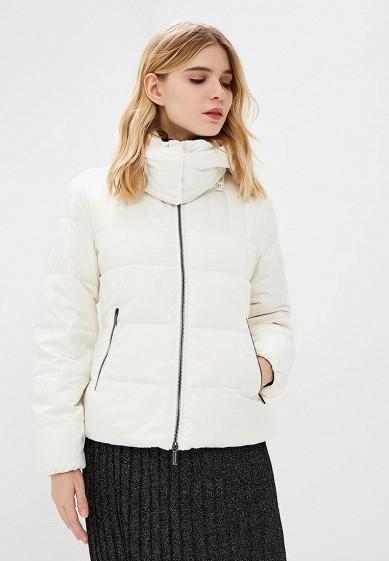 Пуховик, Armani Exchange, цвет: белый. Артикул: AR037EWBLEY7. Premium / Одежда / Верхняя одежда