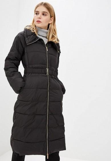 Куртка утепленная, Armani Exchange, цвет: черный. Артикул: AR037EWBLEY8. Premium / Одежда / Верхняя одежда