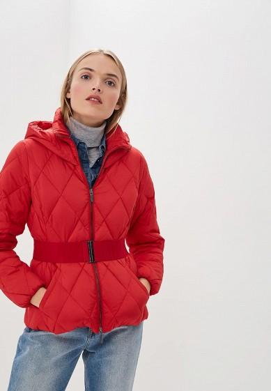 Пуховик, Armani Exchange, цвет: красный. Артикул: AR037EWBLEZ1. Premium / Одежда / Верхняя одежда
