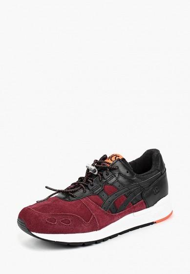 Кроссовки, ASICSTiger, цвет: бордовый. Артикул: AS009AUBSDB0. Обувь / Кроссовки и кеды / Кроссовки