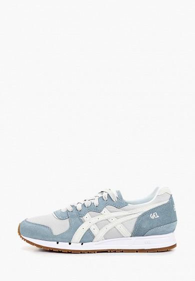 Кроссовки, ASICS, цвет: голубой, серый. Артикул: AS009AWDRKS6. Обувь / Кроссовки и кеды / Кроссовки