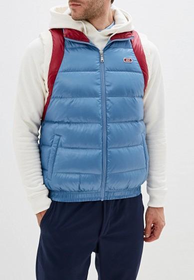 Жилет утепленный, ASICS, цвет: голубой. Артикул: AS009EMFPMV0. Одежда / Верхняя одежда