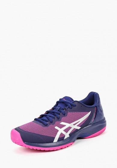 Кроссовки, ASICS, цвет: фиолетовый. Артикул: AS455AWBRNF8. Обувь / Кроссовки и кеды / Кроссовки