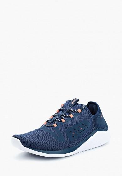 Кроссовки, ASICS, цвет: синий. Артикул: AS455AWZTQ91. Обувь / Кроссовки и кеды / Кроссовки