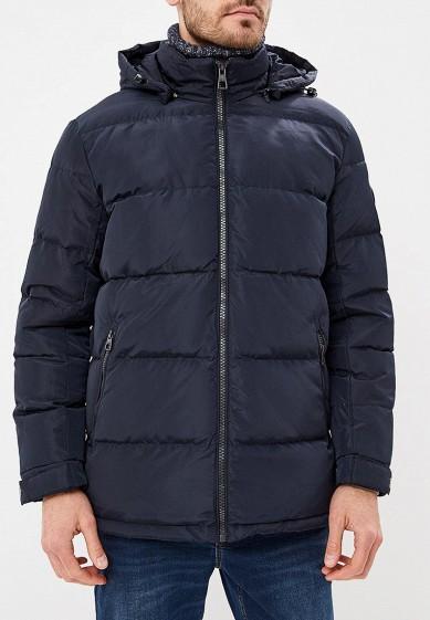 Пуховик, Baon, цвет: синий. Артикул: BA007EMCLAF9. Одежда / Верхняя одежда / Пуховики и зимние куртки