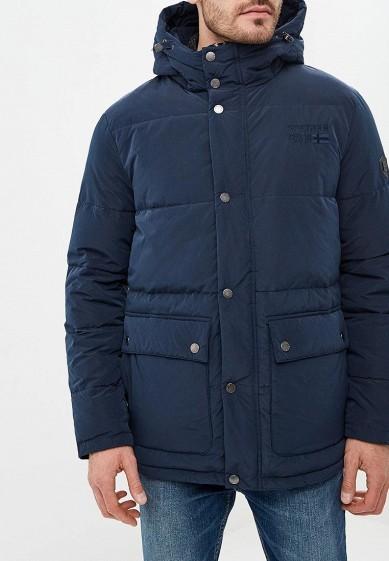 Пуховик, Baon, цвет: синий. Артикул: BA007EMCLAG0. Одежда / Верхняя одежда / Пуховики и зимние куртки