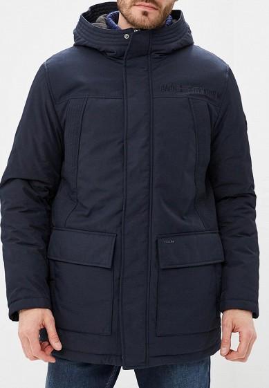 Куртка утепленная, Baon, цвет: синий. Артикул: BA007EMCLAI1. Одежда / Верхняя одежда / Пуховики и зимние куртки