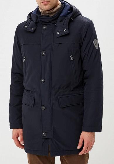 Куртка утепленная, Baon, цвет: синий. Артикул: BA007EMCLAI5. Одежда / Верхняя одежда / Пуховики и зимние куртки