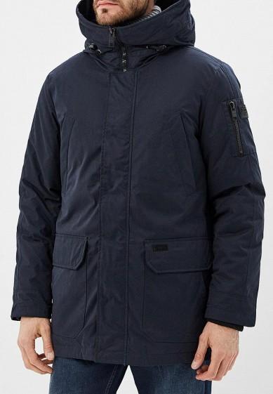 Куртка утепленная, Baon, цвет: синий. Артикул: BA007EMCLAJ0. Одежда / Верхняя одежда / Пуховики и зимние куртки