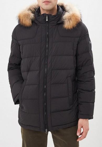 Пуховик, Baon, цвет: черный. Артикул: BA007EMCLAS1. Одежда / Верхняя одежда / Пуховики и зимние куртки