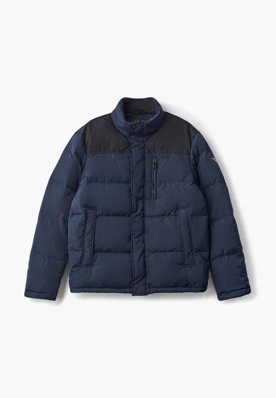 Пуховик, Baon, цвет: синий. Артикул: BA007EMDFJS7. Одежда / Верхняя одежда / Пуховики и зимние куртки