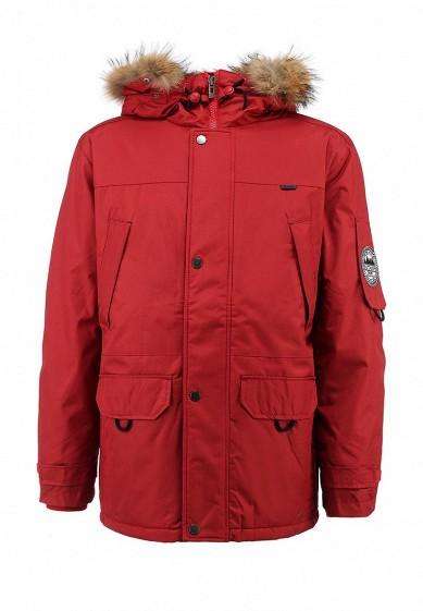 Куртка утепленная, Baon, цвет: красный. Артикул: BA007EMGNJ13. Одежда / Верхняя одежда / Пуховики и зимние куртки