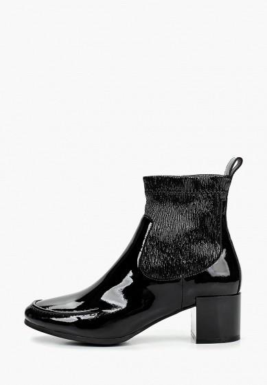 Ботильоны, Basconi, цвет: черный. Артикул: BA057AWEOOE5. Обувь / Ботильоны