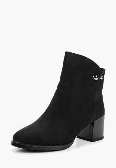 Ботильоны, Betsy, цвет: черный. Артикул: BE006AWCIEN8. Обувь / Ботильоны