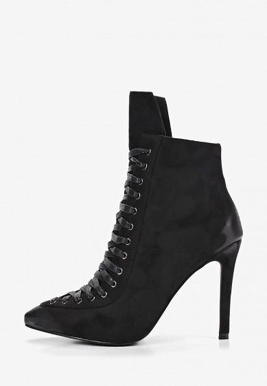 Ботильоны, Betsy, цвет: черный. Артикул: BE006AWEMVL4. Обувь / Ботильоны