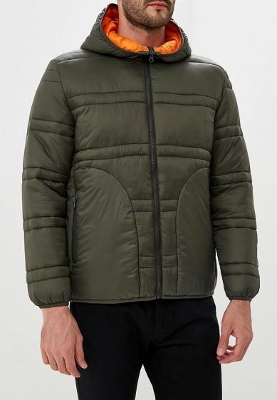Куртка утепленная, Befree, цвет: хаки. Артикул: BE031EMBVVP3. Одежда / Верхняя одежда / Пуховики и зимние куртки