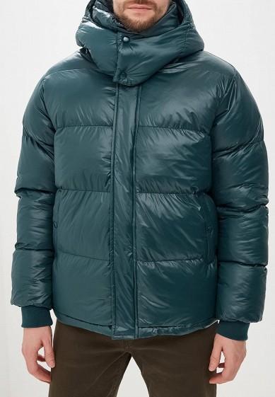 Куртка утепленная, Befree, цвет: зеленый. Артикул: BE031EMCYIQ8. Одежда / Верхняя одежда / Пуховики и зимние куртки