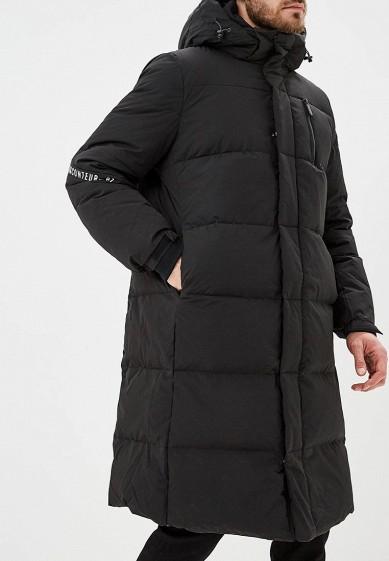 Пуховик, Befree, цвет: черный. Артикул: BE031EMCYIR8. Одежда / Верхняя одежда / Пуховики и зимние куртки