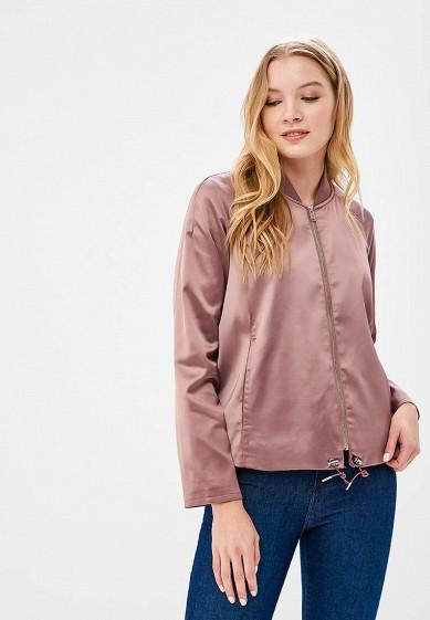 Куртка, Befree, цвет: розовый. Артикул: BE031EWBAAH0. Одежда / Верхняя одежда