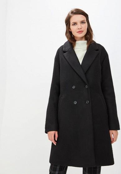Пальто, Befree, цвет: черный. Артикул: BE031EWBXHP2. Одежда / Верхняя одежда