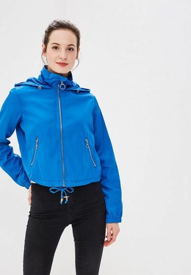 Куртка, Befree, цвет: синий. Артикул: BE031EWBXHQ4. Одежда / Верхняя одежда
