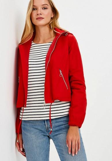 Куртка, Befree, цвет: красный. Артикул: BE031EWBXHQ5. Одежда / Верхняя одежда
